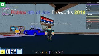 Roblox 4th of July Fireworks 2019