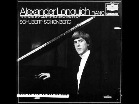 ALEXANDER LONQUICH plays SCHUBERT Sonata D 845 (1979)