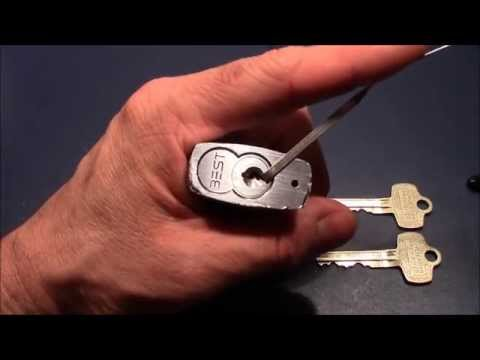 (picking 36) BEST padlock raked open (sent by Joshua - thank you very much)