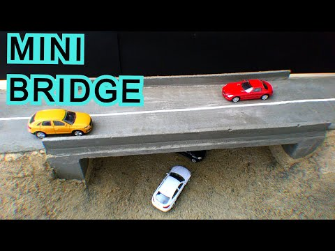 DIY Mini Bridge ∣∣ Concrete Bridge ∣∣ Bridge Construction ll Cement Project