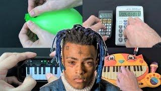 Xxxtentacion - Look At Me (Balloon VS Iphone VS Calculators VS Cat Piano)