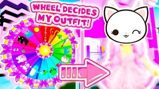 I Let The MYSTERY WHEEL Decide MY OUTFIT! *FAIL?* Roblox Royale High School
