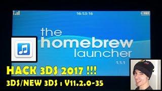 ★ HACK 3DS 2017 ★ Accéder à l'HOMEBREW LAUNCHER facilement avec SOUNDHAX !