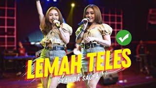 Download lagu Syahiba Saufa Lemah Teles Ft Yayan Jandhut