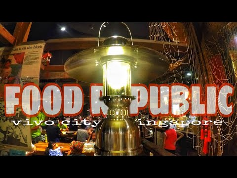Food Republic at Vivo City mall Harbour Front Singapore | Makan | foods at Singapore