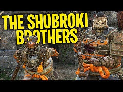 The Shubroki Brothers  For Honor Season 5