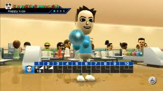 Wii Sports - Bowling - Best Games For Kids - Happy Kids Games And Tv - 1080p