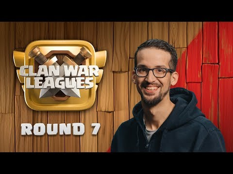 Clash of Clans UPDATE - Clan War Leagues - The Final Round - Round 7