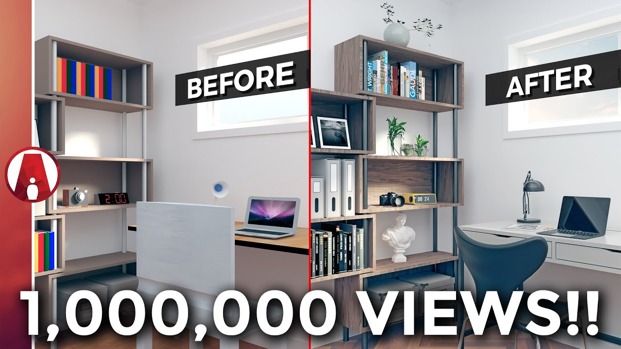 10 Tips For A Realistic Interior Rendering Youtube