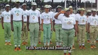 NYSC ANTHEM OFFICIAL VIDEO   YouTube