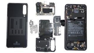 Разбираем смартфон Xiaomi MI9 SE teardown