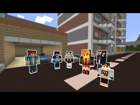 ŞEHRE BİRSÜRÜ İNSAN TAŞINDI! 😱 - Minecraft thumbnail