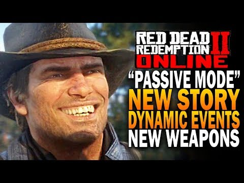 PASSIVE Mode, NEW Story, Dynamic Events & Much More - Red Dead Redemption 2 Online thumbnail