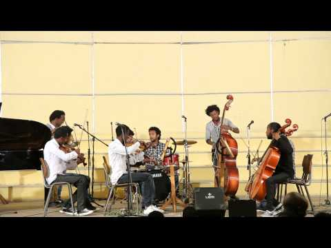 Blowing and String Ensemble By 2nd Year Students On Yared Music School Christmas Concert 2015