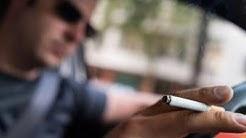HOHE GELDSTRAFE: So will NRW die Zigarette am Steuer ahnden