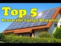 Top 5 Renewable Energy Source That Are Availabe To Us Now   Techno Update