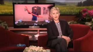 Ellen Checks in on Her Triscuit Home Garden