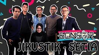 Gambar cover SENSOR INDONESIA - JIKUSTIK - SETIA ( ACOUSTIC COVER ) #MusikCover