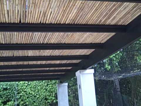 Outdoor Pergola Roof Materials