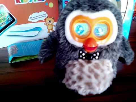 HIBOU интерактивная игрушка Сова (модель 2014 года) - YouTube