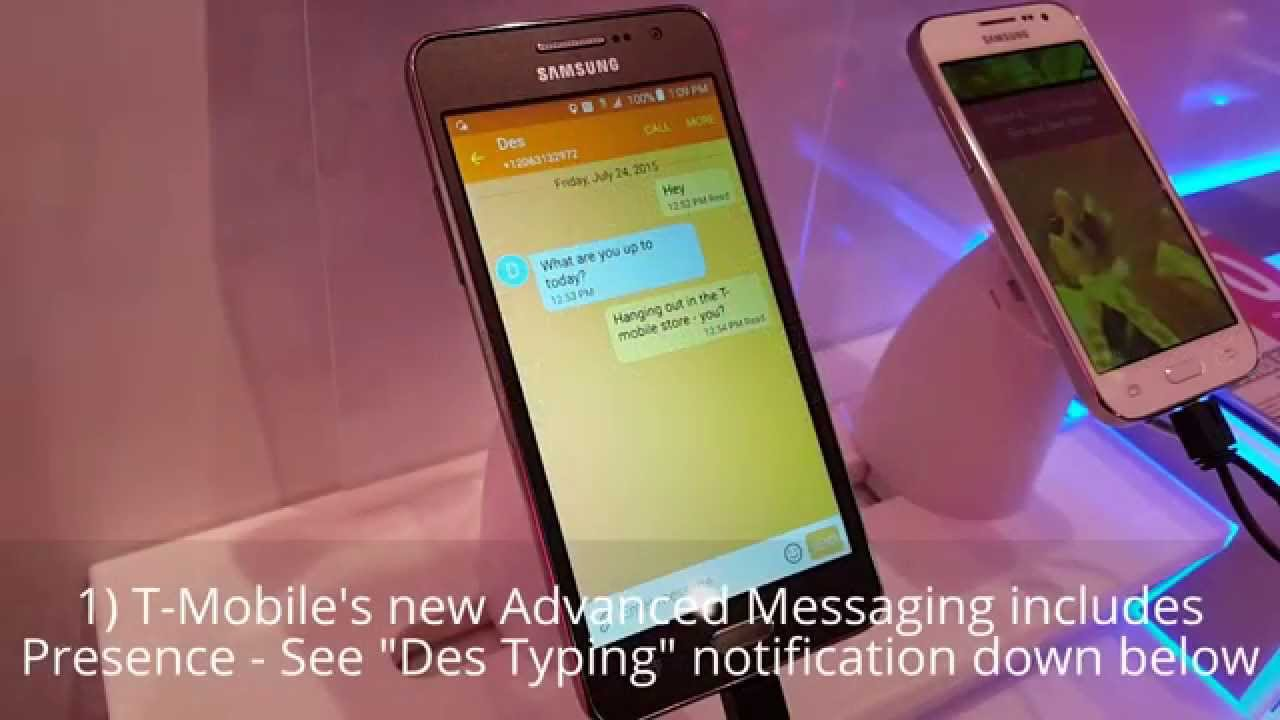 Check out T-Mobile Advanced Messaging in action - TmoNews
