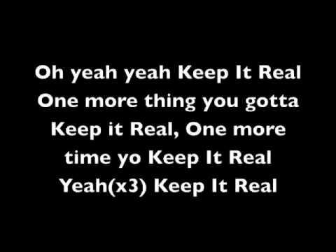 Keep It Real (w/lyrics) - Hosea Moz