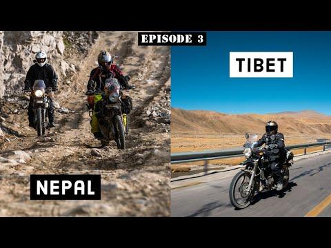 From Nepal to Tibet   International Border Crossing - Ep.3