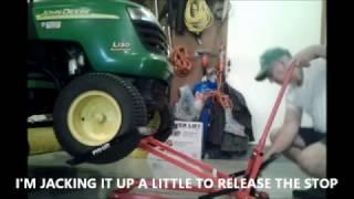 PRO-LIFT RIDING MOWER LIFT OPERATION