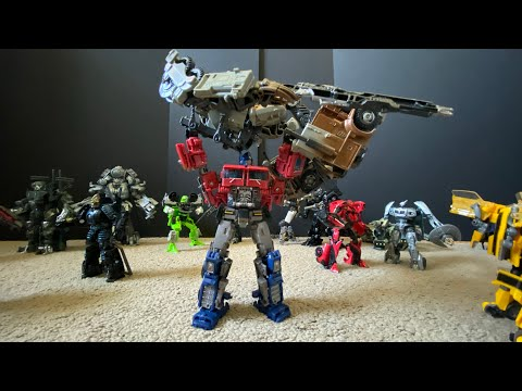 Transformers Stop Motion - Ambush