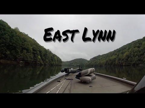 Bass Fishing East Lynn Lake