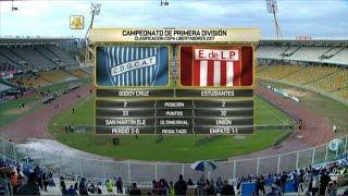 Godoy Cruz vs Estudiantes. Desempate Copa Libertadores. Primera División 2016.