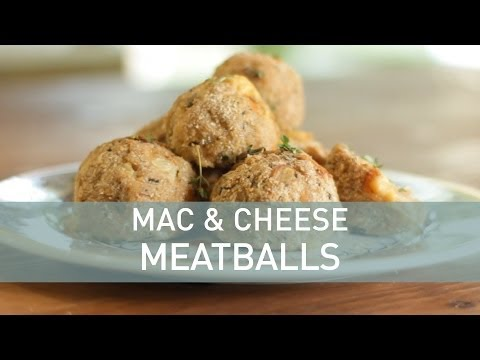 Food Deconstructed - Mac and Cheese Meatballs