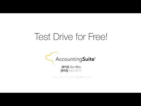 AccountingSuite Product Tour