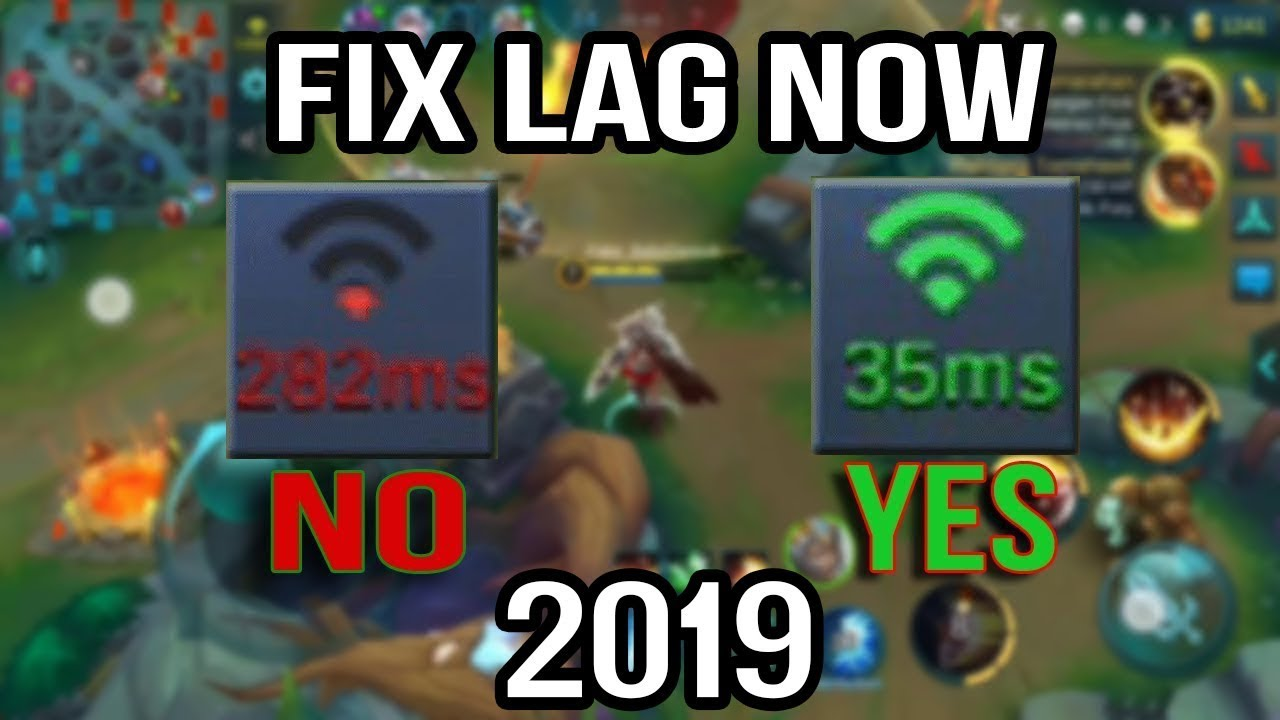 How To Fix Internet lag/Ms Of Mobile Legend Bang Bang - YouTube
