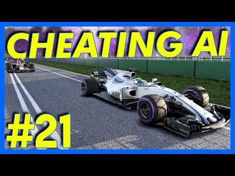 F1 2017 Career Mode Gameplay : CHEATING AI!! (Part 21)