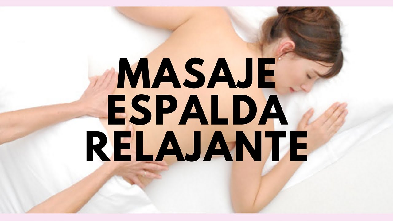 video masaje