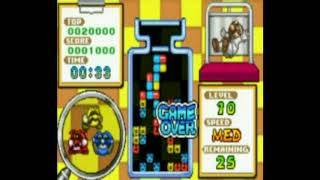 Play Dr Mario & Puzzle League Online (GBA) Gameplay