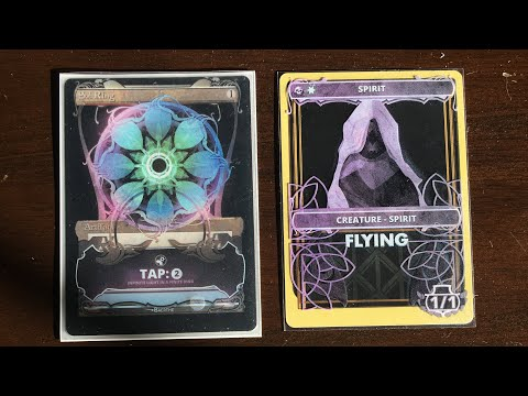 THE BEST MTG CUSTOM ART EVER! How To Bling Out Your MTG Cards! - Alter Sleeves!