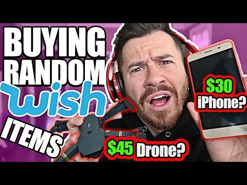 Buying Everything Wish Recommended Me! (TESTING KNOCK OFF TE