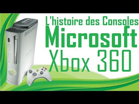 L'histoire des Consoles Microsoft - Xbox 360