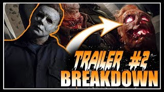 Things You May Have Missed | HALLOWEEN Trailer #2 | Complete BREAKDOWN |