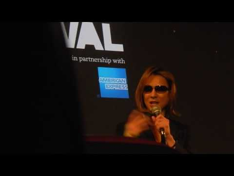 "Yoshiki & Stephen Kijak ""We Are X"" Q&A, Premiere @BFI London, October 8/9th"