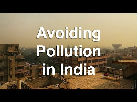 How to Avoid Air Pollution in India With a Mask