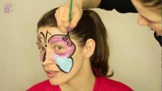 Malowanie buziek, Malowanie twarzy # 1 - Motylek
