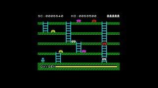 Digger Dan (1983) 128k AY music version Walkthrough + Review, ZX Spectrum