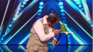 America's Got Talent 2014 - Auditions - The Birdman