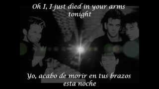I Just  Died In Your Arms Tonight     Ingles- Español  CUTTING CREW