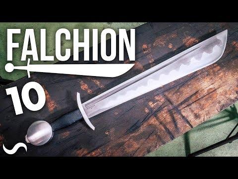 MAKING A FALCHION!!! Part 10 FINISHED!
