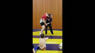 Tri-City Training Takedown Seminar - Sweep from underhook