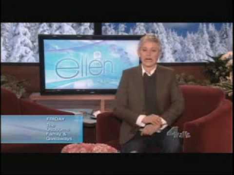 Ellen's monologue 02/03/10 Furniture Shuffle